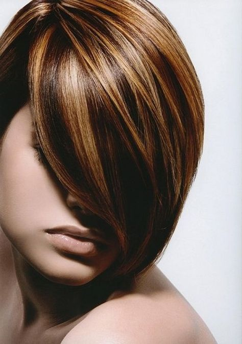 The 25 best chunky blonde highlights ideas on pinterest chunky chocolate brown hair with chunky blonde highlights is convenient to relaxing at home pmusecretfo Choice Image