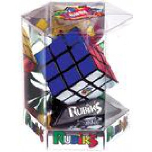 It's the ultimate brainteaser game.  Experience the best-selling puzzle game ever with a classic Rubik's Cube. Twist and turn this crazy puzzle, mixing up all the different colored sides, then amaze everyone by solving one of the combinations. Can you solve the puzzle' Includes a solution hints booklet.