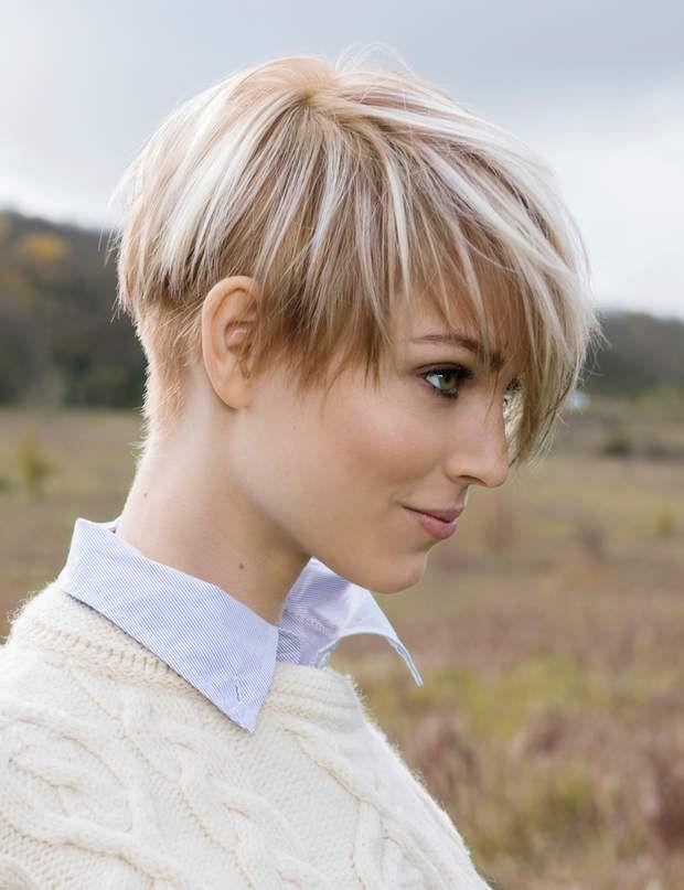 Les 43 meilleures images du tableau coiffures sur pinterest coiffures courtes cheveux courts - Coupe destructuree courte ...