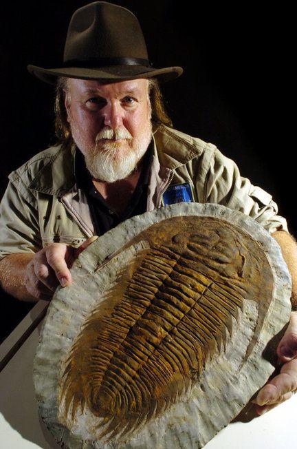 Trilobite - PaleoJoe at Penn Dixie. Posted 7/01/2010