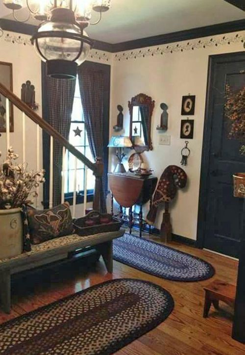 Colonial Decorating 1467 best country & antique decorating images on pinterest