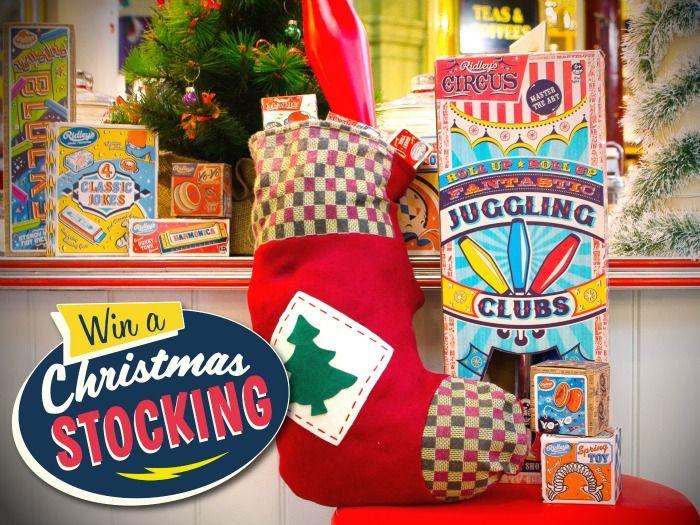 Win Ridleys Retro Stocking Sharing Christmas Memories