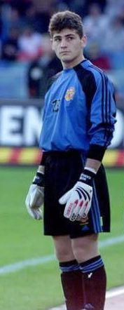 Iker Casillas in youth