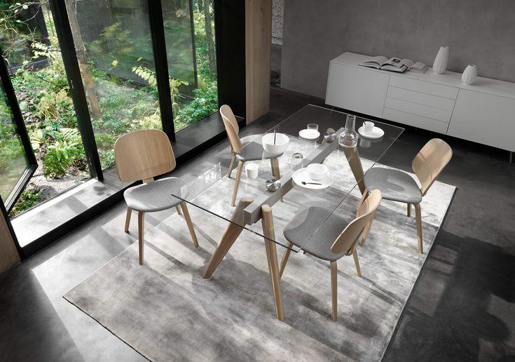 Aarhus Stühle mit Monza Esszimmertisch boconcept dining interiordesign design homedecor  ...