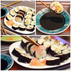 SmykWKuchni: Jak zrobić sushi? - przepis na sushi-maki