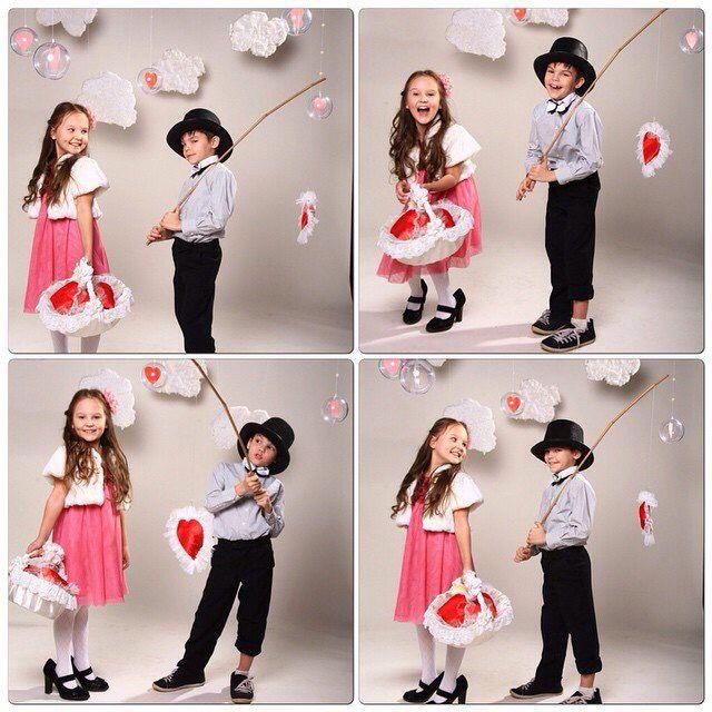Фото, фото сессия в стиле, декор, дети, любовь, влюбленные, День святого Валентина, качели, парочка, сердце, вместе