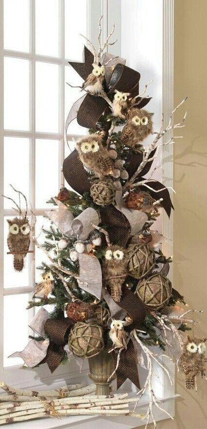 A Walk in the Countryside: Nature Inspired Christmas Trees: