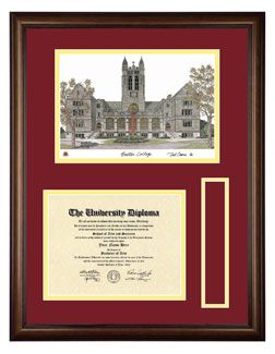 College Tassel Frame Boston College Diploma Frames By