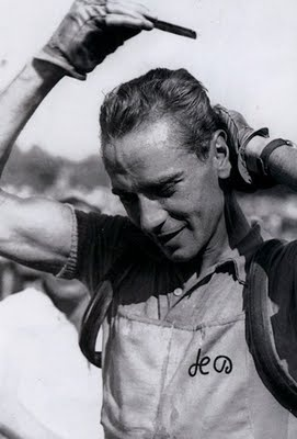 Hugo Koblet always raced with a comb.