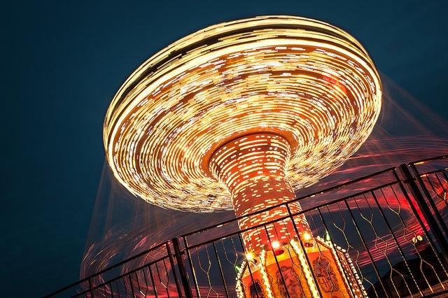 Swinger by Mark J P, via Flickr (Light Trails)