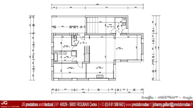 17 best ideas about permis de construire on pinterest for Plan maison basse