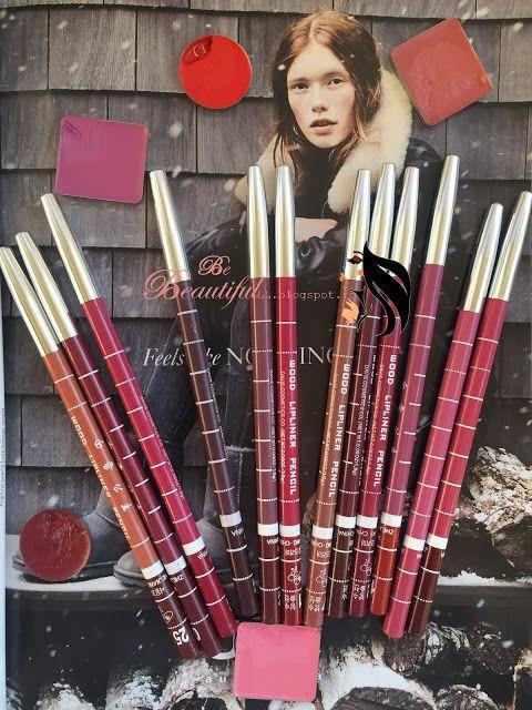 Be beautiful: Set creioane pentru buze de la Banggood.com