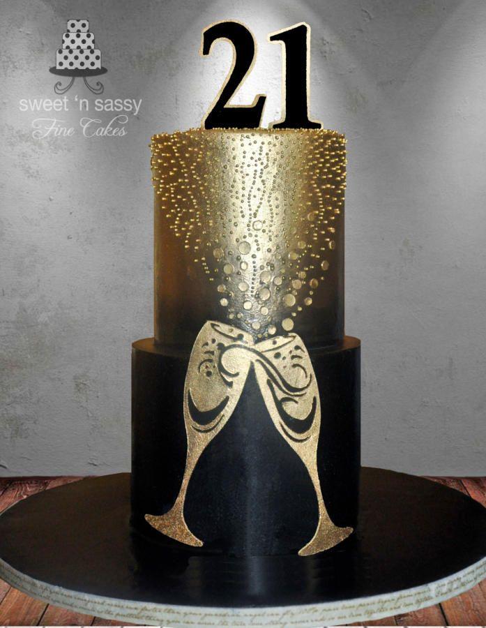 21st Ching Ching - Cake by Sandy - Sweet 'n  Sassy
