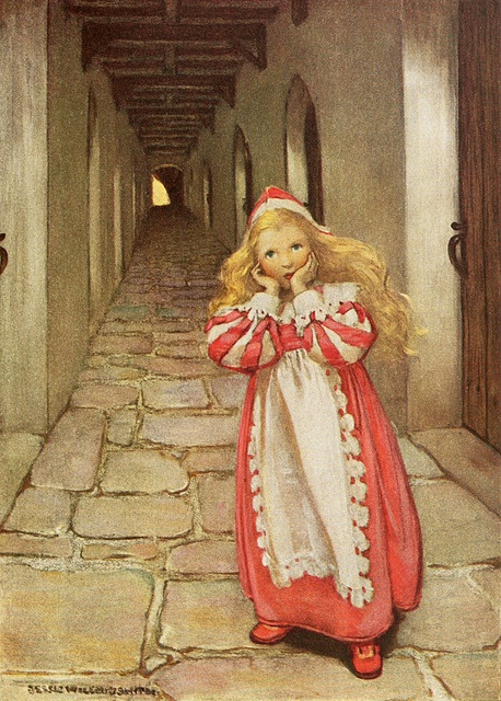 Jessie Willcox Smith - The Princess and the Goblin by totally vintage, via Flickr