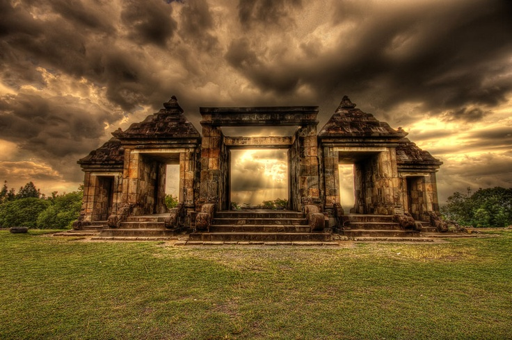 Ratu Boko, one of the temple that placed in Yogyakarta.