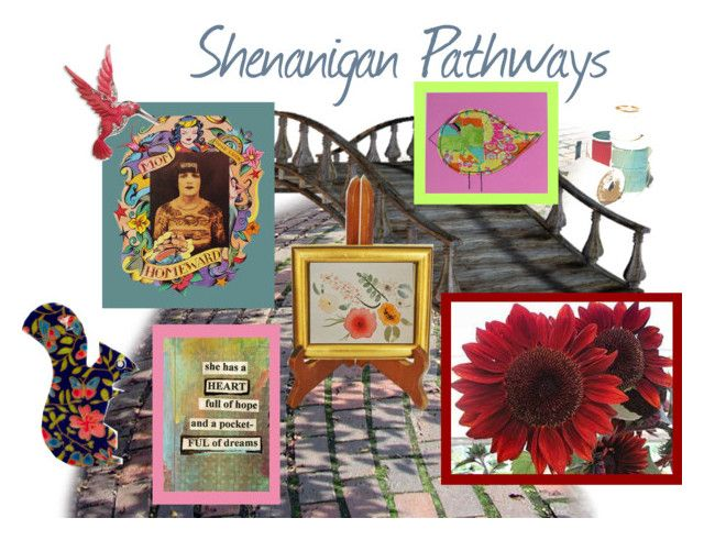 Shenanigan Pathway Reveal #1 by chilirose-creative on Polyvore featuring art