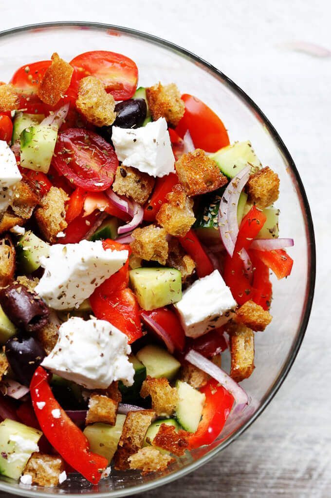 Greek Panzanella best 25+ traditional greek salad ideas on pinterest | traditional