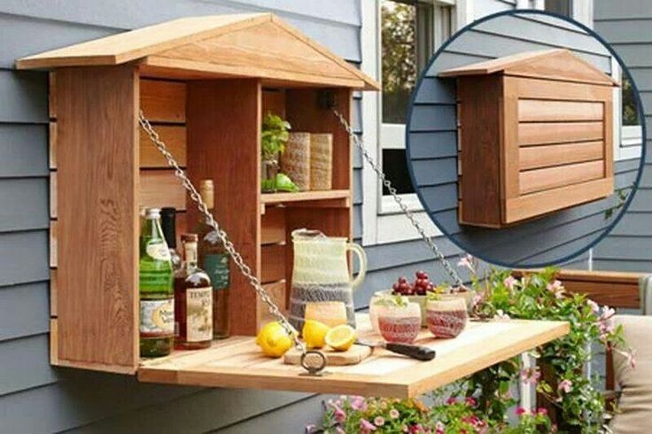 Cool idea for back yard deck parties.