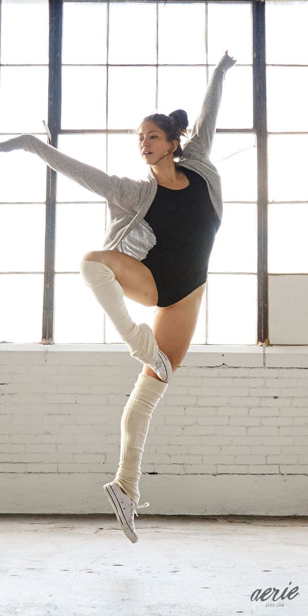 Aerie Real Bodysuit. Dance, move or simply lounge around in sweet ballet style. #Aerie