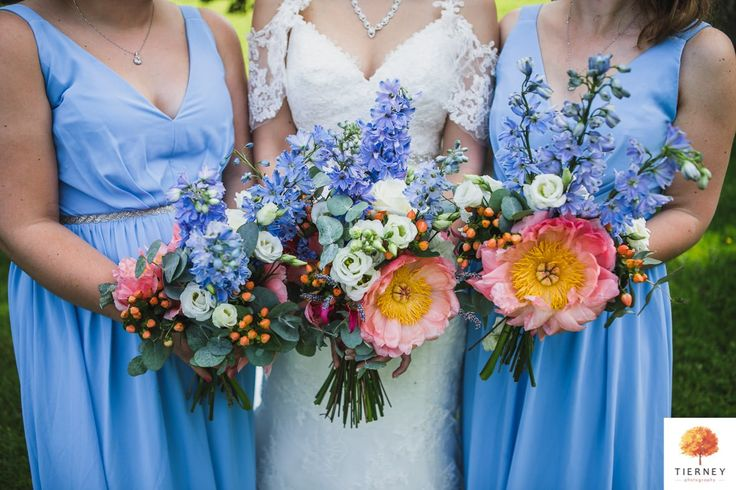 Wedding bouquets, Losehill House Hotel & Spa, Peak District, Derbyshire
