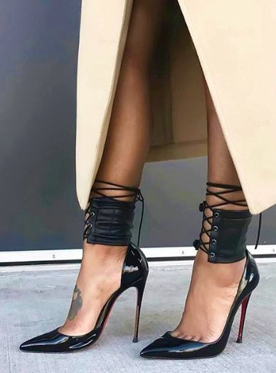 The Ankle Corset Christian Louboutin