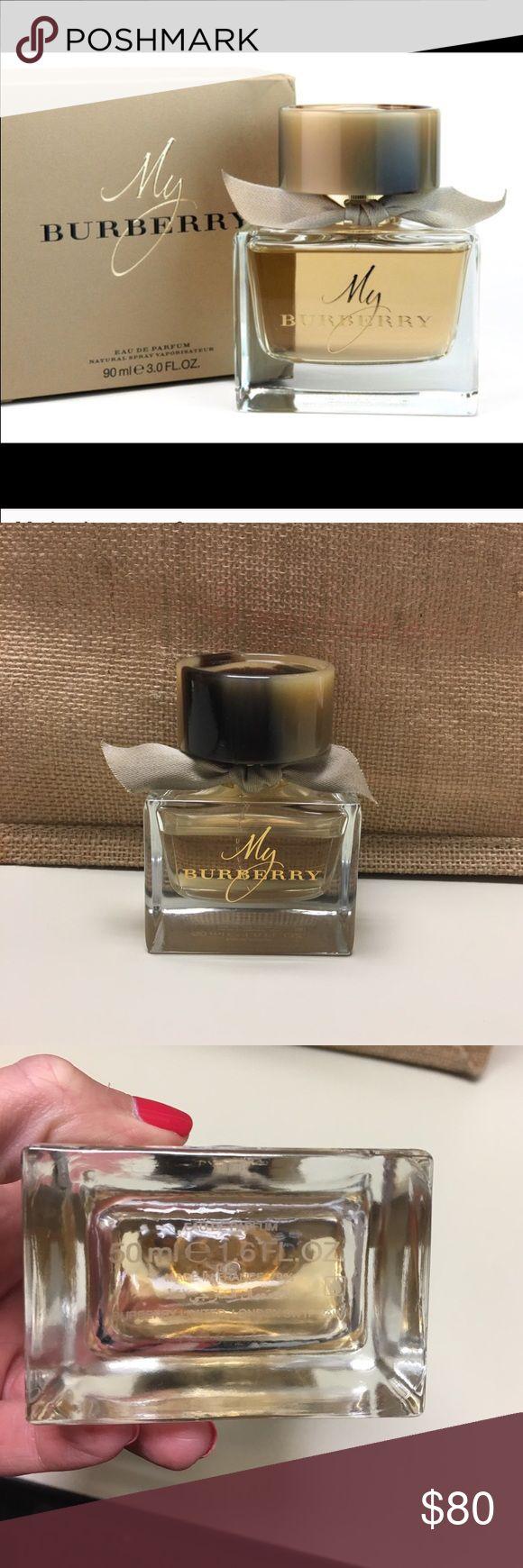 Lightly used MY Burberry perfume 1.6fl oz Lightly used MY Burberry perfume 1.6fl oz Burberry Other