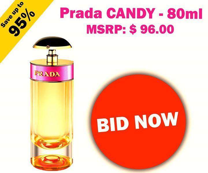 #Bid for this Amazing #Perfume from #Prada!! To Start #Bidding, Visit: https://us.nutbid.com/