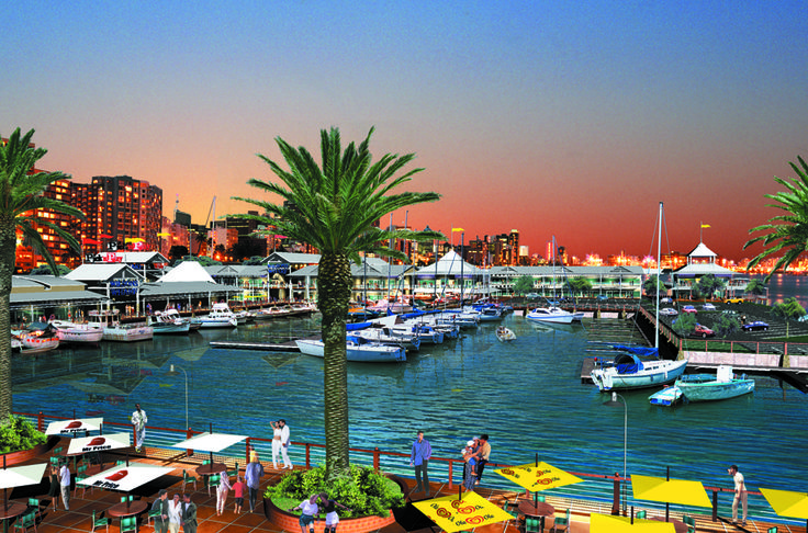 Wilson's Wharf is between the Sugar Terminal and the Yacht Mole, and is one of the most trendy spots you will find in the world. #travel
