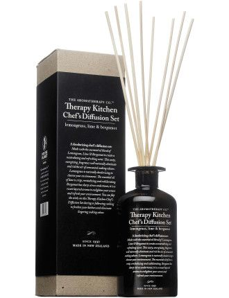 The Aromatherapy Co. Lemongrass, Lime & Bergamot Chef's Diffusion Set 250ml #davidjones #beauty #scent #fragrance #perfume #shop
