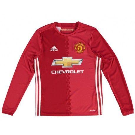 Maillot Manchester United Enfant 2016-2017 Domicile Manches Longues