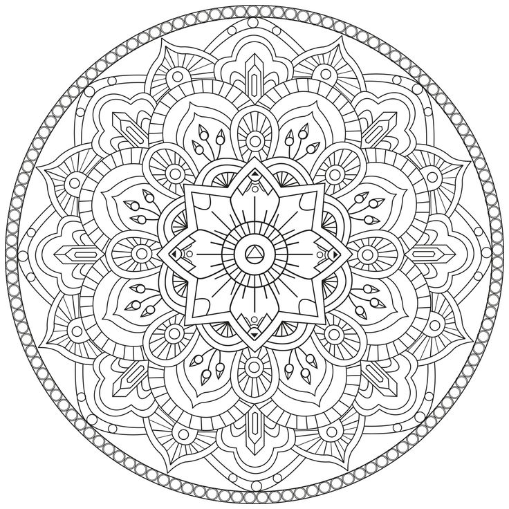 Here are Difficult Mandalas Coloring pages for adults to print for free.   Mandala  is a Sanskrit word which means a circle, and metaphorically a universe, environment or community.   For centuries, in many cultures (eg Tibet), the Mandala is used as a tool to facilitate meditation. Those suggested here are of various styles and levels of difficulty, ranging from complex to complex !   NEW: Discover our new website 100% Free Mandalas to print and color (for children and adults)…