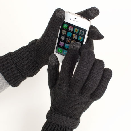 Smart Touch Gloves - a solution to freezing fingers during the winter months.
