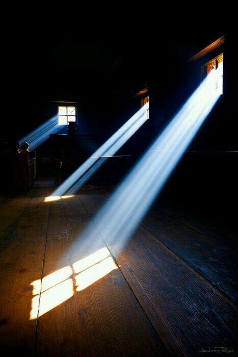 #light #sunrise #space #window #wood #shadow