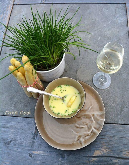 Heerlijke Aspergesoep 'Het Witte Goud'  #soep #asperge #recept
