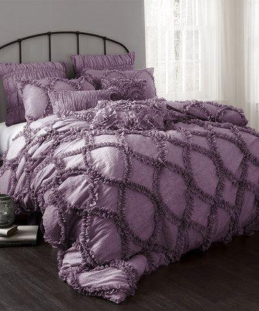 1000 Ideas About Purple Comforter On Pinterest