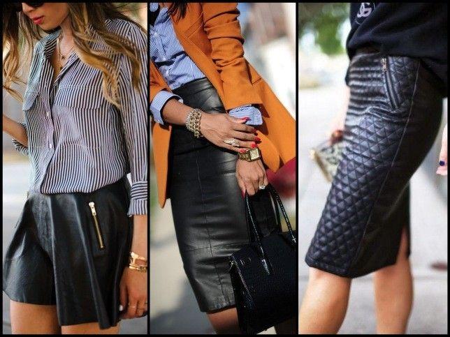 Gonne rock, tubini glamour e cropped pants super alla moda, sono questi i capi must in pelle per un look da vera leather addicted del 2000.http://www.vervemagazine.it/leather-addicted-con-i-capi-in-pelle-201516/