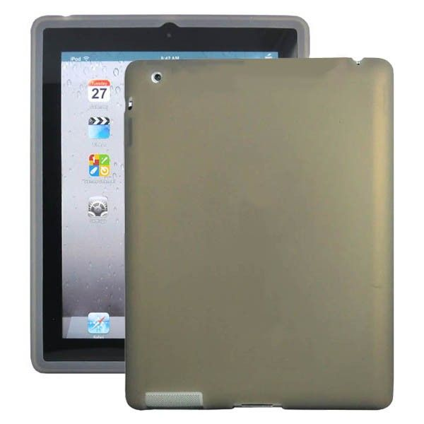 Soft Shell (Grå) iPad 3 Deksel