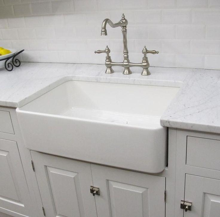 Fireclay Farmhouse Sink 30top Quality White Kitchen