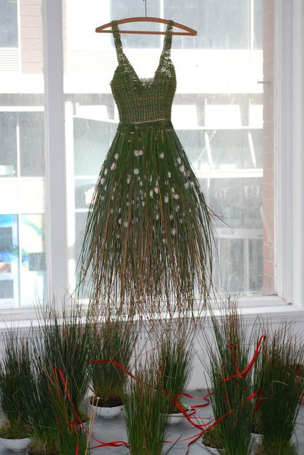 Well thats one way of having an recyclable dress How about a compostable dress  Dream