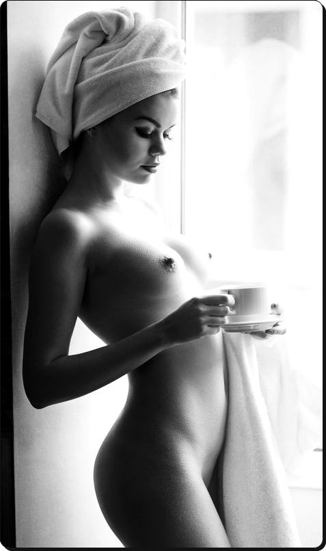crescentmoon b & w, Hot Babes Naked