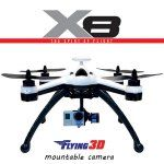 Flying 3D X8 GPS 2.4G 8CH RC Quadcopter 6 Axis Gyro OSD RTF Drone