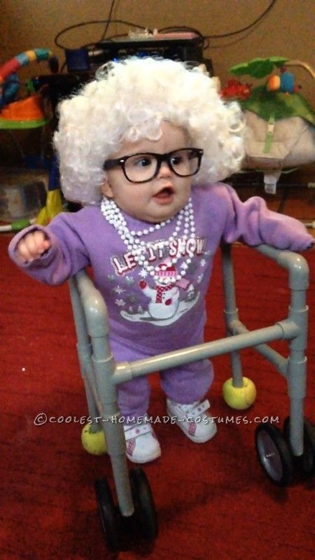 103 best babies in disguise images on pinterest costumes cutest little old lady baby costume solutioingenieria Image collections