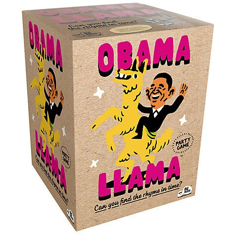 Buy Big Potato Obama Llama Game Online at johnlewis.com