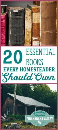 Here are the top 20 books every homesteader should own. I have a full bookshelf despite free resources on the internet. A library helps you be prepared for disasters, do you own any of these books?