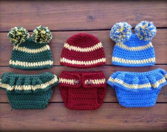 Newborn Baby Photo Prop Crochet Diaper by DeborahOLearyPattern