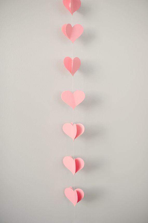 #ValentinesDay #heart Garland
