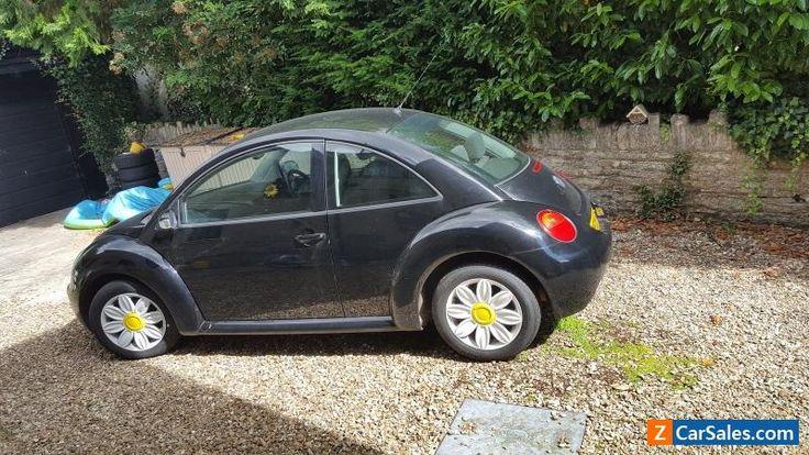 Black 2005 VW Beetle 1.9 tdi #vwvolkswagen #beetle #forsale #unitedkingdom