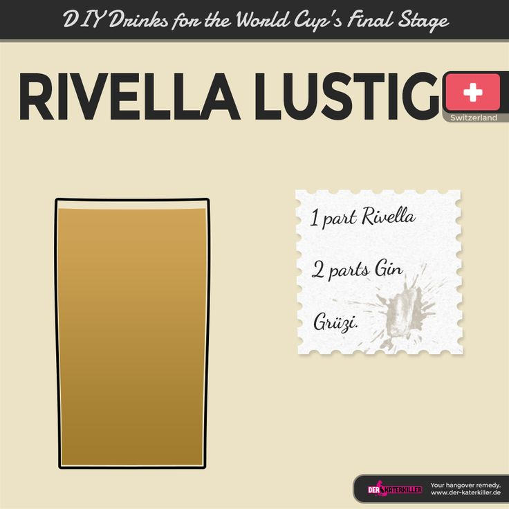 Switzerland sealed the finals and might consider spicing up their national drink, Rivella