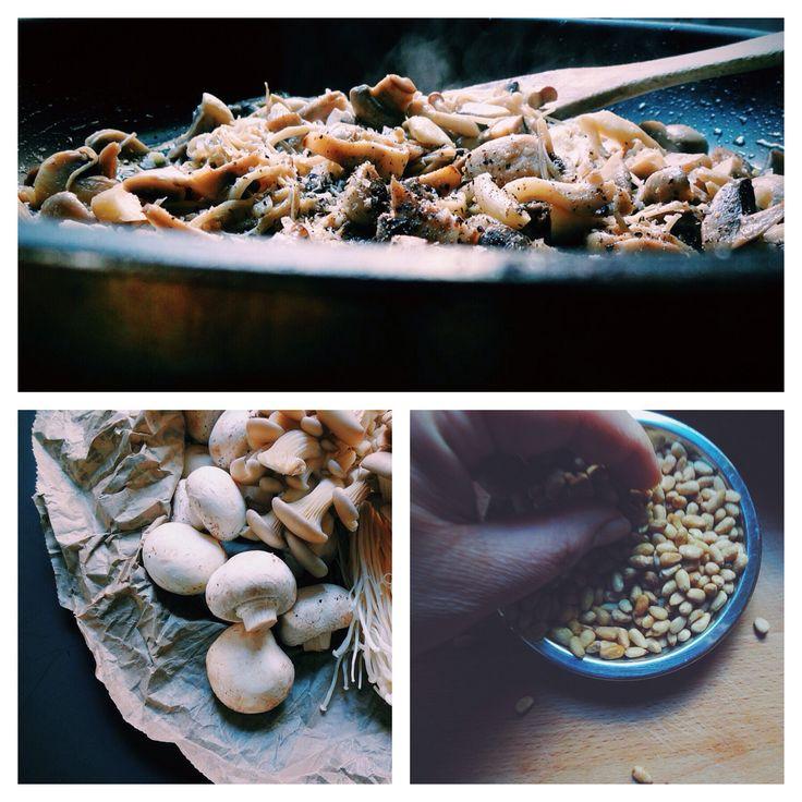 mushroom pasta love & a recipe for Barilla