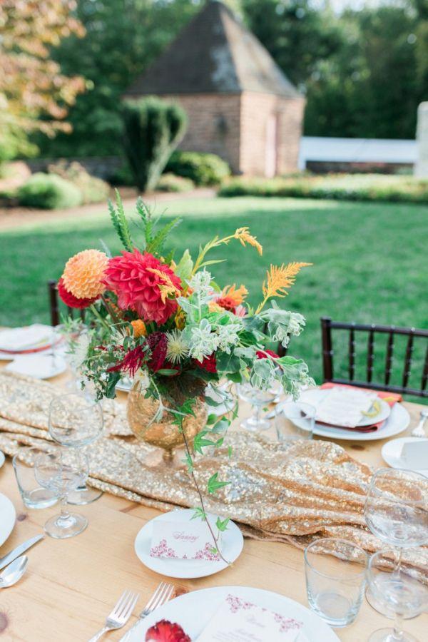 Red and gold tablescape  #wedding #weddings #weddinginspiration #engaged #aislesociety #pakistaniwedding